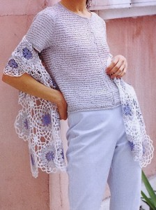 Beautiful Women's Lace Shawl Wrap for Spring