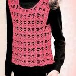 Classic One Piece Crochet Vest