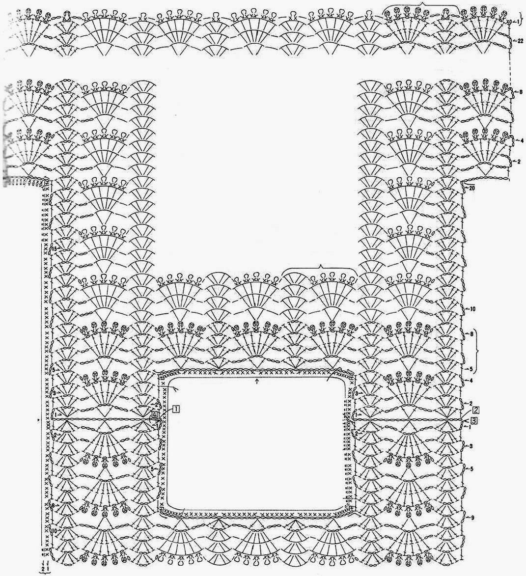 Classic One Piece Crochet Vest ⋆ Crochet Kingdom