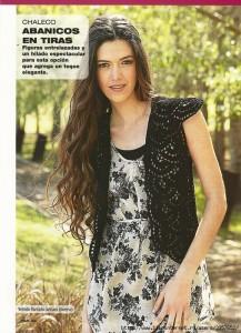 Cool Crochet Black Vest Pattern