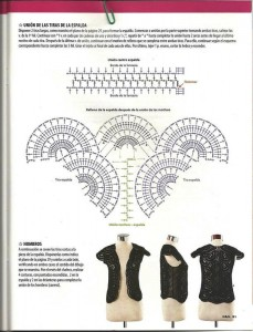 Cool Crochet Black Vest Pattern 3