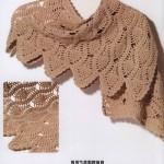 Crochet Pineapple Wrap