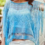 Stylish Crochet Poncho
