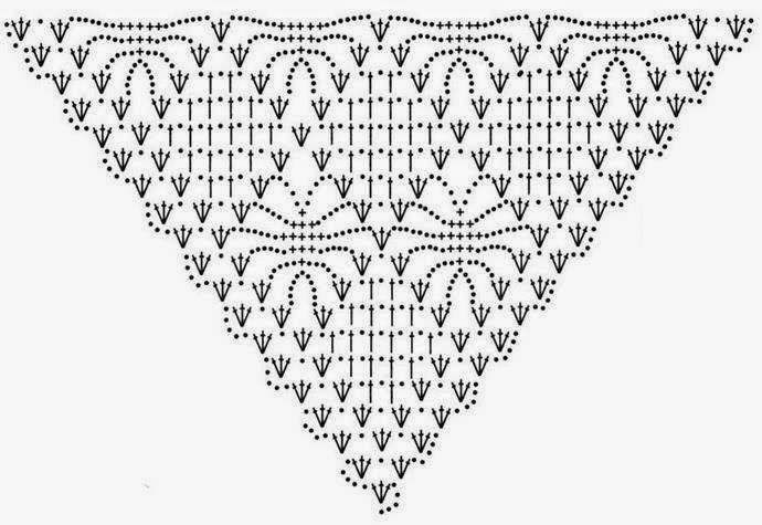 Shawl Diamond Squares Crochet Pattern Crochet Kingdom