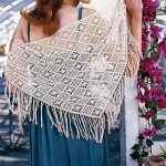 Shawl Diamond Stitch Crochet Pattern