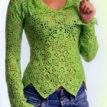 Collared Crochet Sweater Pattern