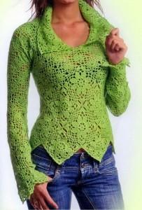 Crochet-Sweater-Pattern-Women