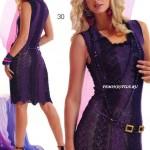 Crochet Two Toned Dress