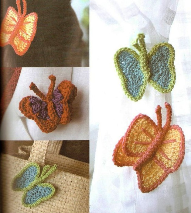 Decorative Crochet Butterflies