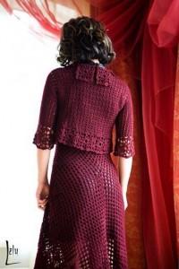 Fishnet Dress and Cape 2