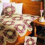 Flower Doily Blanket Crochet Blanket