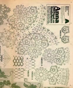 Flower Doily Blanket Crochet Blanket 2