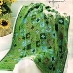 Little Green Granny Afghan Pattern