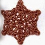 Crochet Hexagon Star Shape