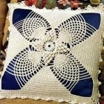 Lace Pillow Free Crochet Pattern