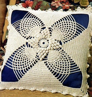 Lace Pillow Free Crochet Pattern ⋆ Crochet Kingdom