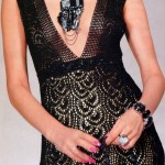 Long Evening Dress Crochet Pattern