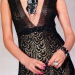 Long Evening Dress Crochet Pattern