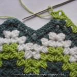 Ripple Granny Stitch Blanket