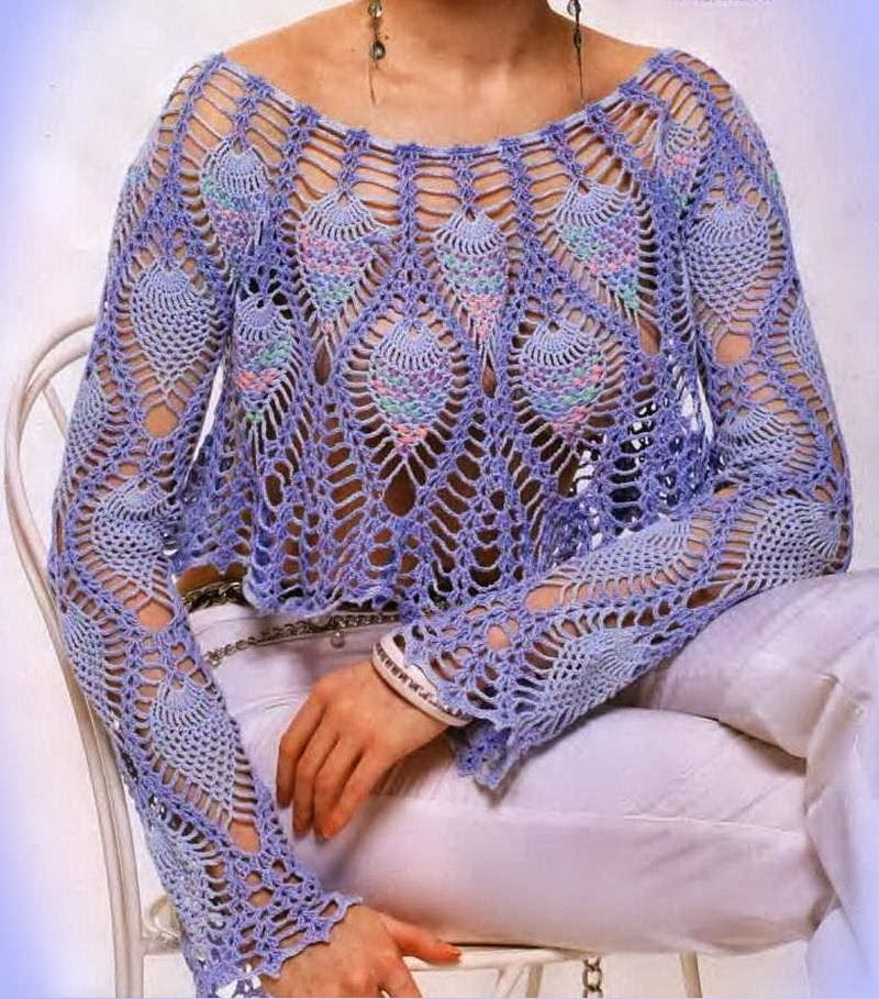 Pineapple Lace Bolero Crochet Pattern Crochet Kingdom