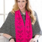 St Valentine's Crochet Scarf Pattern