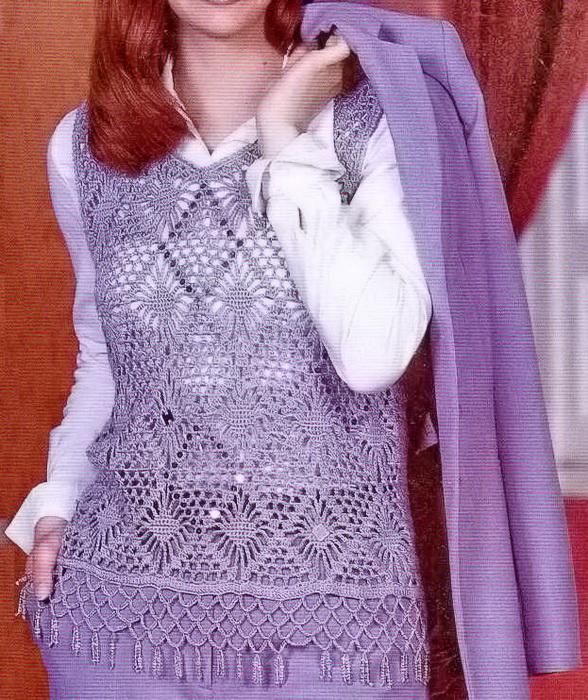 Stylish & Easy Crochet Vest Free Pattern ? Crochet Kingdom