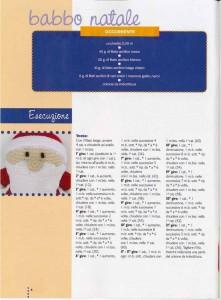 babbo natal crochet ganchillo 1