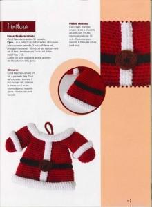 babbo natal crochet ganchillo 10