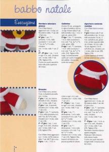 babbo natal crochet ganchillo 3