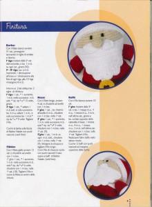 babbo natal crochet ganchillo 6