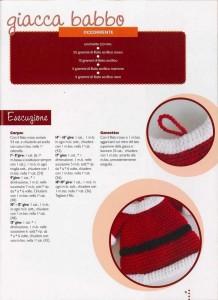 babbo natal crochet ganchillo 8