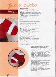babbo natal crochet ganchillo 9