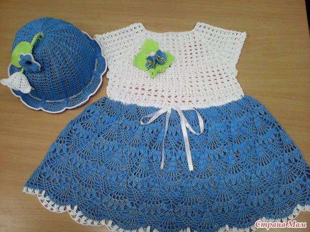 Baby Dress Crochet Pattern ? Crochet Kingdom