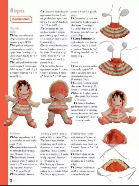 Bebota Patron Ganchillo ⋆ Crochet Kingdom