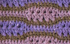 Big and Small Waves Stitch Crochet