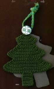 christams tree crochet