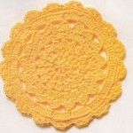 Pretty Circle Crochet Motif Pattern