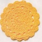 Pretty Circle Crochet Motif Pattern