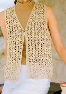 classic vest crochet