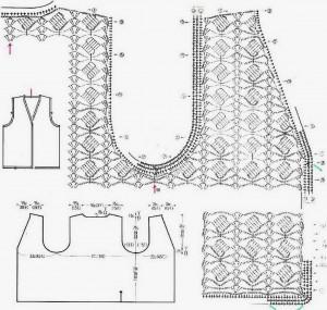 classic vest crochet pattern 1