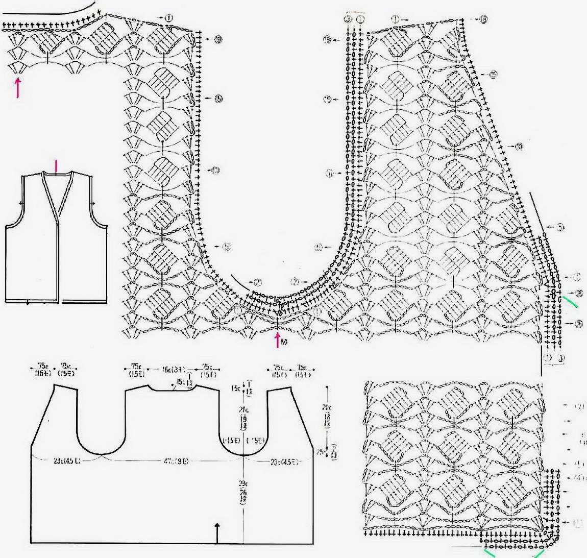 classic vest crochet pattern  u22c6 crochet kingdom