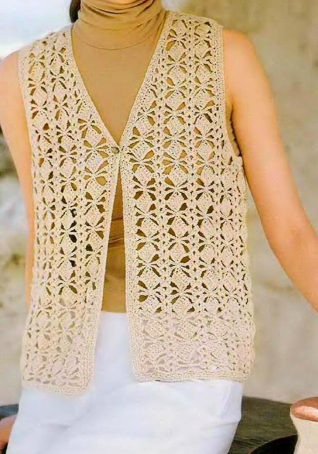 Classic Vest Crochet Pattern Crochet Kingdom