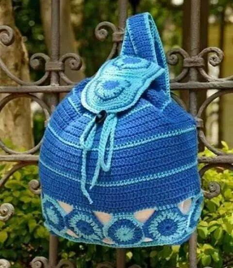 Crochet Backpack Pattern