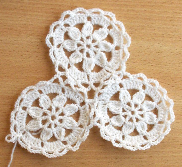 Crochet Patterns For Motifs : Ornate Circle Crochet Motif Pattern ? Crochet Kingdom