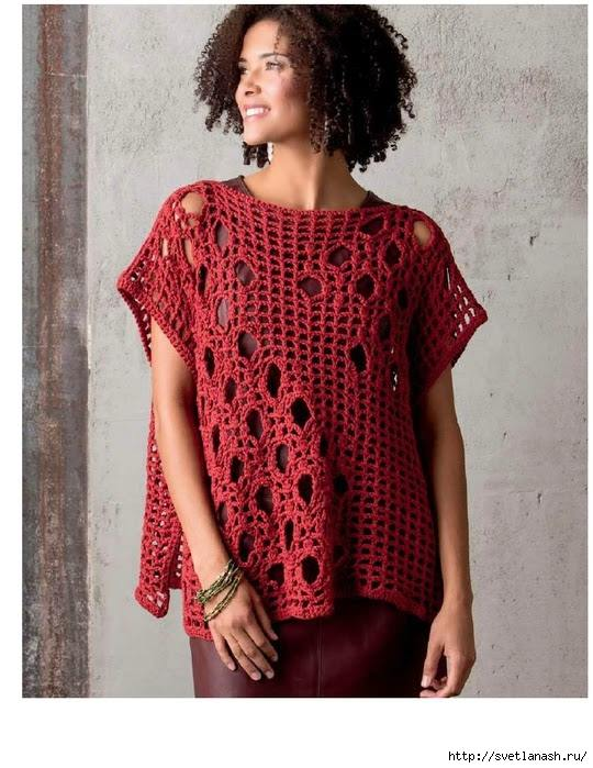 Free Crochet Patterns Tops : Free Crocheted Top Patterns Pictures to pin on Pinterest