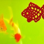 Free Crochet Fish Motif