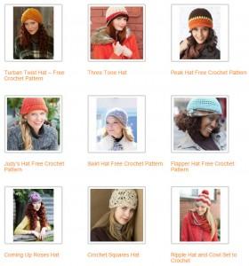 crochet-hat-patterns-free
