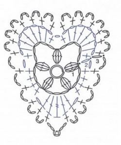 crochet-heart-motif
