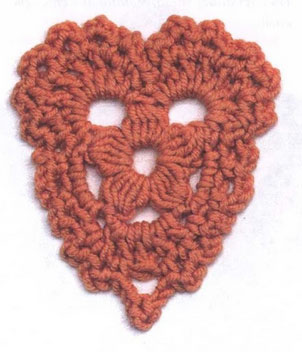 Kingdom Hearts Free Crochet Patterns : Crochet Hearts with Diagram ? Crochet Kingdom