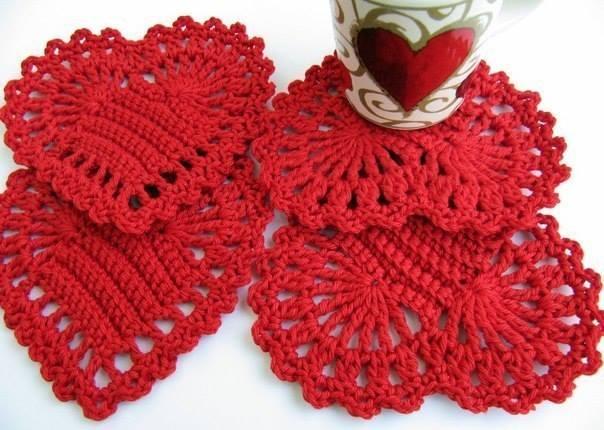 Artistic Crochet Heart Motif ? Crochet Kingdom